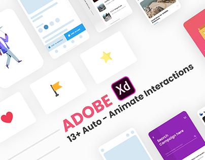 Adobe Xd Auto - Animate UI kit