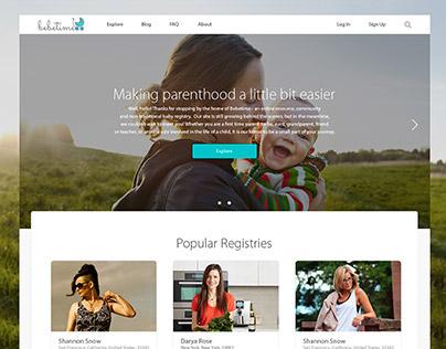 "Crowdfunding platform ""Bebetime"""