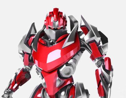 3-D robot for SVAROG