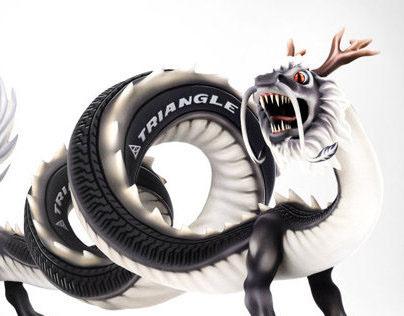 Wheel dragon