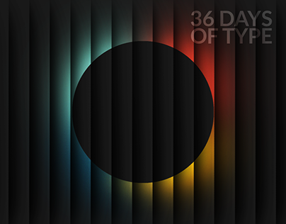 36 Days of Type 🔡   2018 Edition