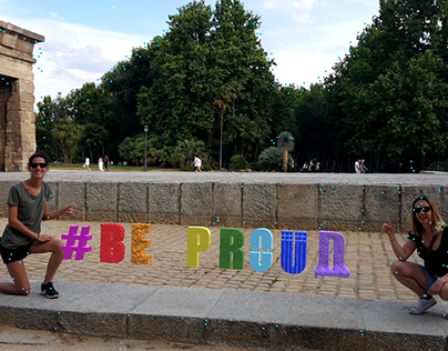 #BeProud / 3D in Augmented Reality