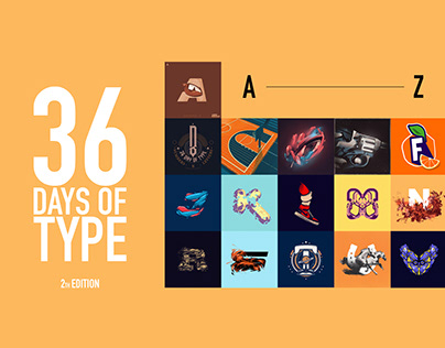 36 Days of type 2th Edition