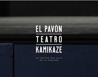 Imagen corporativa El Pavón Teatro Kamikaze