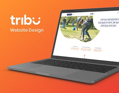 Tribu website design (2019)