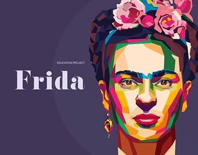 Frida Kahlo / Educational website