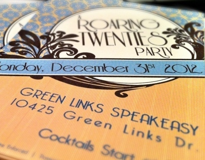 NYE Speakeasy Invites
