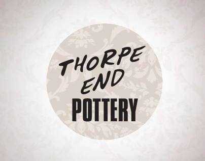Thorpe End Pottery - Branding and Material
