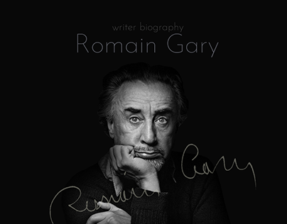 Longread biography writer Romain Gary