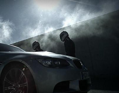 BMW M3 Sedan launch campaign