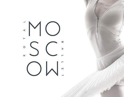 Royal Moscow Ballet - web & branding concept