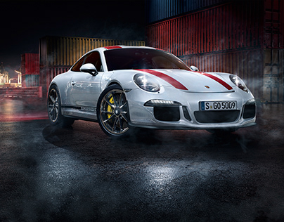 100% CGI Porsche 911r Harbour Race