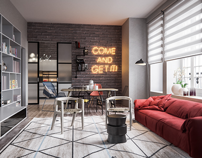 Luxury Apartments Loft // Moscow