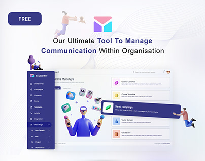 EmailChimp Lite   Free Email Marketing Admin Template