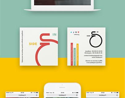 Inside Up - Coach Sportif - Brand Design