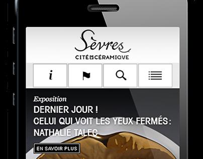 Manufacture de Sèvres - L'application mobile