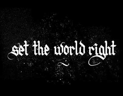 Set The World Right