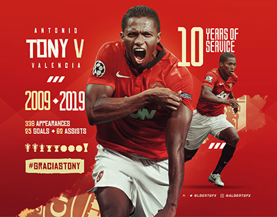 Antonio Valencia's Farewell