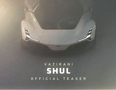 Vazirani Shul Hypercar Teaser | Motion Graphics Project