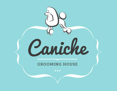 Caniche Grooming House Identity