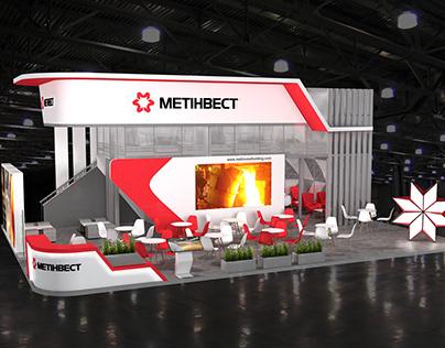 "Проект стенда, ""Металл Экспо-2019"", 147 м кв."