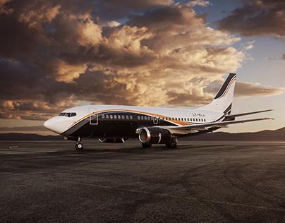 Boeing 737 - 500 Klasjet