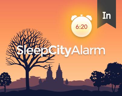Sleep City Alarm App