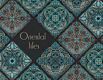 Ornament Oriental Tiles