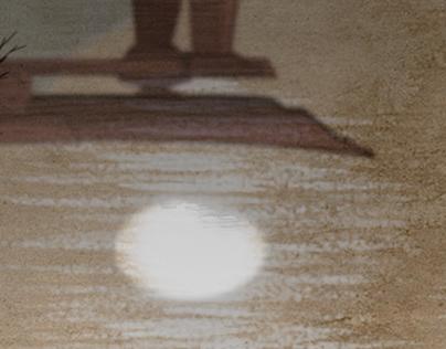 Ukiyo-e, inspired artwork