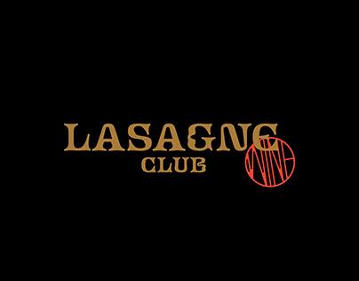 Lasagne Club Branding