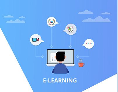 E-Learning Login UI/UX Design