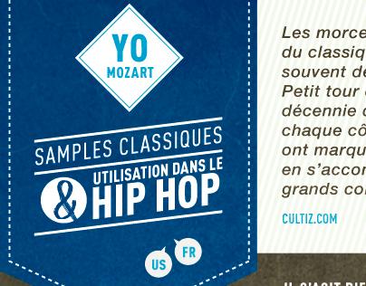 Infographie - Classique & Hip Hop