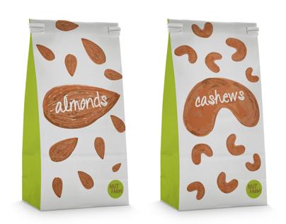 Nut Farm Packaging
