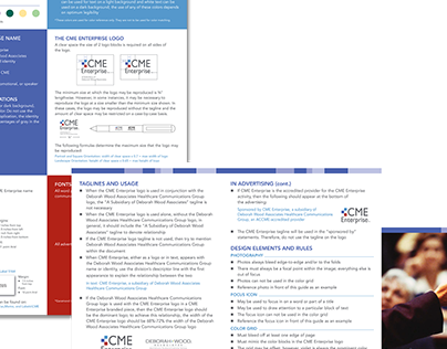 CME Enterprise Branding Quick Reference Guide