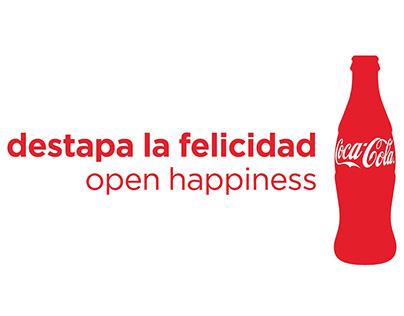 La Caja de Felicidad Coca Cola