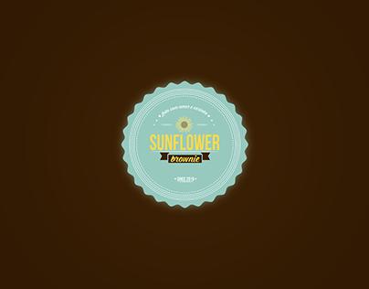 Logo e Adesivos - Sunflower Brownie