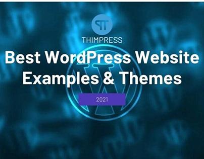 Best WordPress Website Examples & Themes