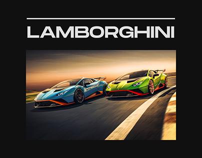 Lamborghini — New Website Concept