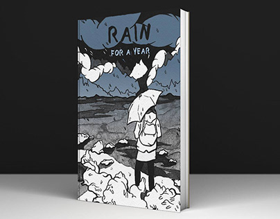 BOOK COVER - RAIN FOR A YEAR