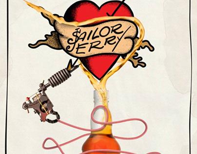 Poster Design - Sailor Jerry