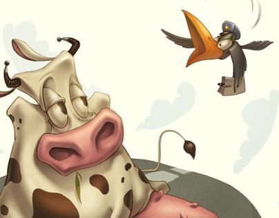illustrations O