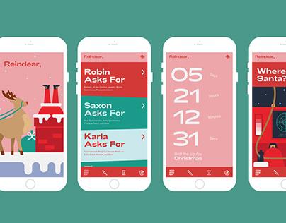 Reindear - A Christmas App