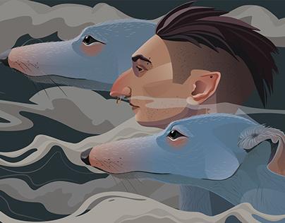 Blue hounds
