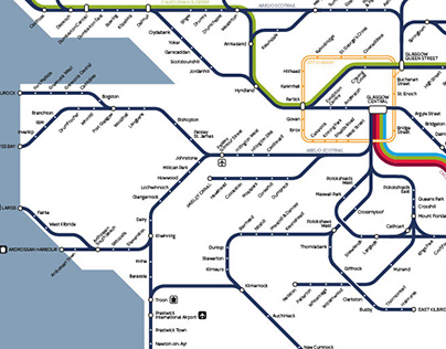 UK National Rail Maps