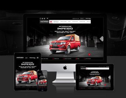 Mahindra Imperio - Responsive Website
