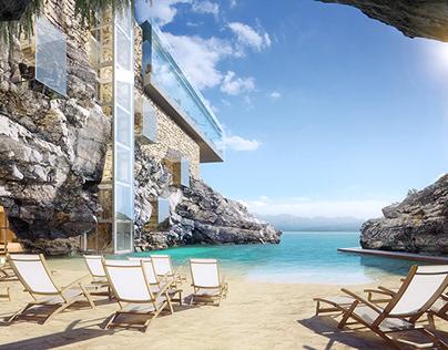 Visualization of SPA-hotel in Crete