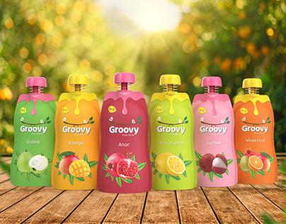 Groovy   Brand & Packaging Design