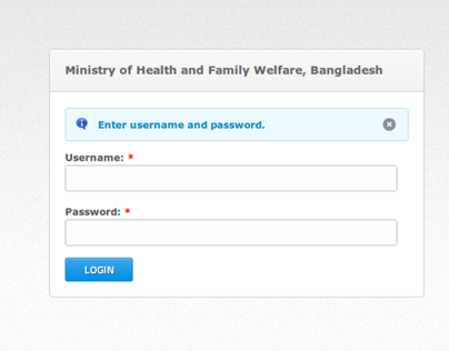 Schedule Application For MIS, DG Health, Bangladesh
