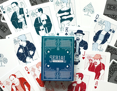 Serial Playing Cards – Custom designed Card Deck