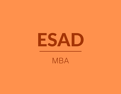 ESAD MBA (2012 - 2013)